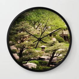 A Place of Peace Wall Clock