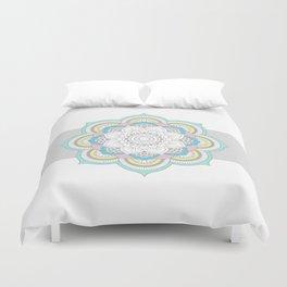 Pastel Mandala Duvet Cover