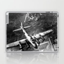 B-17 Bomber Over Germany Painting Laptop & iPad Skin
