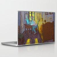 van gogh Laptop & iPad Skins featuring Vincent van Gogh by bytahsinkaya