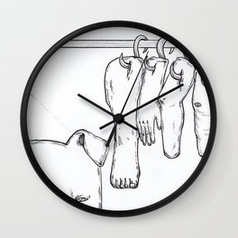 Piggy Market Wall Clock
