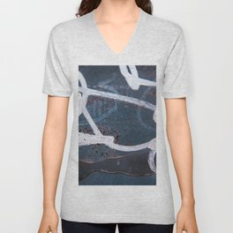 Abstract Photograph Of Industrial Urban Graffiti Unisex V-Neck