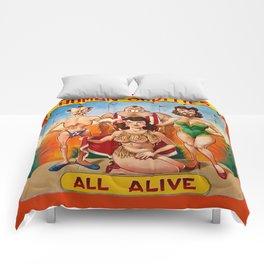 Sideshow Banner, Human Oddities Comforters