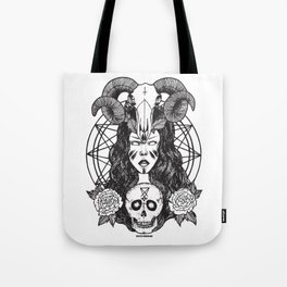 Satanic Princess Tote Bag