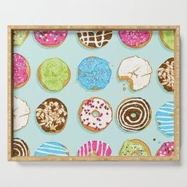 Sweet donuts Serving Tray
