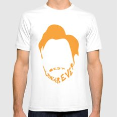 Best Ginger Ever. White Mens Fitted Tee MEDIUM