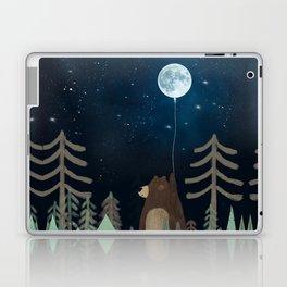 the moon balloon Laptop & iPad Skin