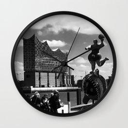 Musical vs. Opera Wall Clock