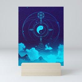 Sacred Geometry (Balance) Mini Art Print