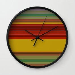 RHAPSODY IN RED Wall Clock