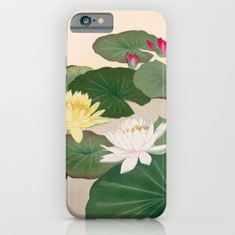 Water Lily Pond  iPhone Case
