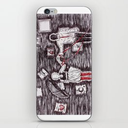 Tied to Disorder iPhone Skin