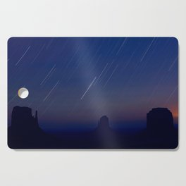 Monument Valley Star Trails Cutting Board
