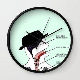 VISIBLE TOM WAITS Wall Clock