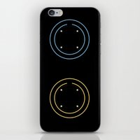 tron iPhone & iPod Skins featuring Tron by Sara E. Snodgrass