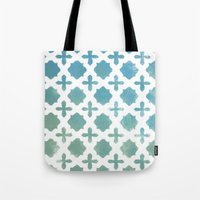 monogram Tote Bags featuring Monogram by Chilligraphy