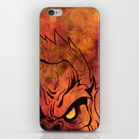 sasquatch iPhone & iPod Skins featuring Sasquatch by Laurelle Armet