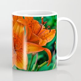 Orange Tiger Lilies - The Peace Collection Coffee Mug