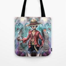 The King of Pirates a Tra-Digital Portrait Tote Bag