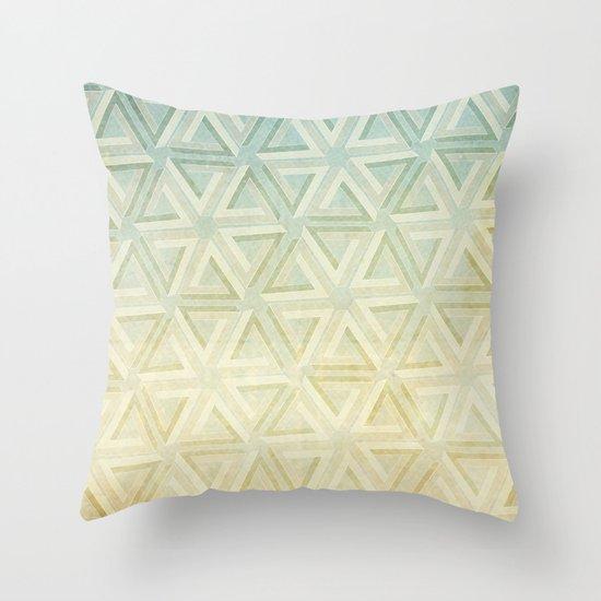 escher pattern Throw Pillow