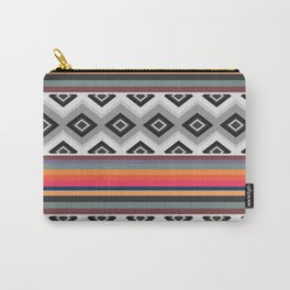 Ethnic and multicolored stripes Carry-All Pouch