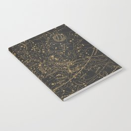 Visible Heavens - Dark Notebook