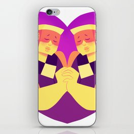 you complete me iPhone Skin
