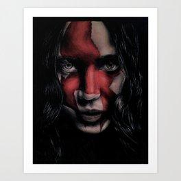 MJ Part 2 - Katniss Everdeen Drawing Art Print