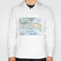 cuba Hoodies featuring Cuba Sharks by Carly Mejeur