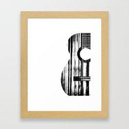 Acoustic Guitar Music Player Musician Guitarist Rock Framed Art Print
