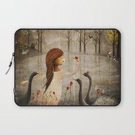 Swan Princess Laptop Sleeve