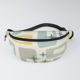 Mid Century Modern Geometric Abstract 132 Fanny Pack