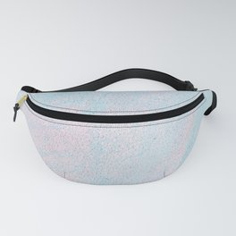 Cotton Candy Painting Fanny Pack