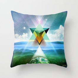 ∆ day Throw Pillow