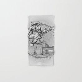 Joyful Noise -- Black and White Variant Hand & Bath Towel