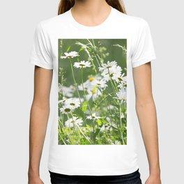 Beautiful Daisies Summer Meadow #decor #society6 #buyart T-shirt