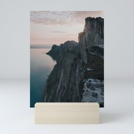 The Cliff - Landscape and Nature Photography Mini Art Print