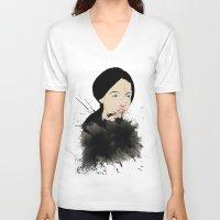 pop art V-neck T-shirts featuring Pop by John Murphy