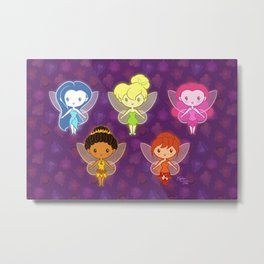 Fairy Friends: Lil' CutiEs Metal Print