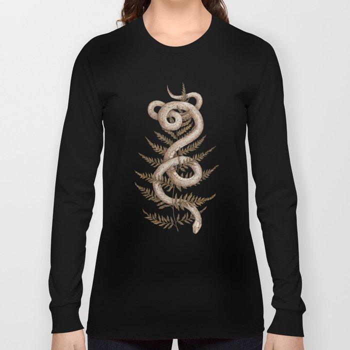 The Snake and Fern Langarmshirt