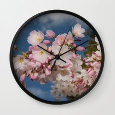 Silicon Valley Cherry Blossoms Wall Clock