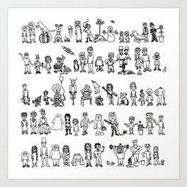 SOMA 2008 Art Print