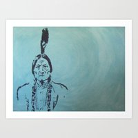 usa Art Prints featuring usa by humanoid