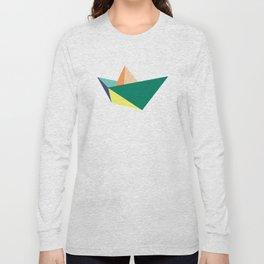 Fune, original colours on white Long Sleeve T-shirt