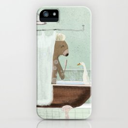 shower time iPhone Case