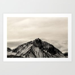 Black Mountain Art Print