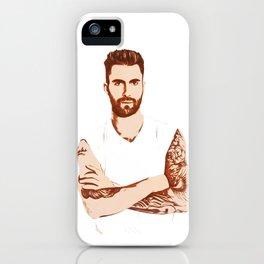 Adam Levine - Pop Art iPhone Case