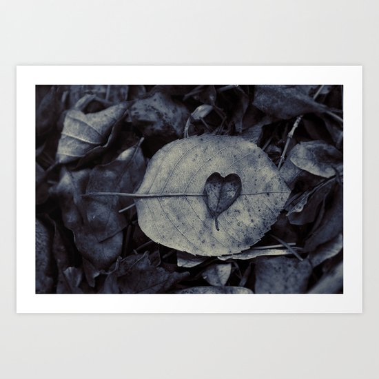 And love is what remains Art Print