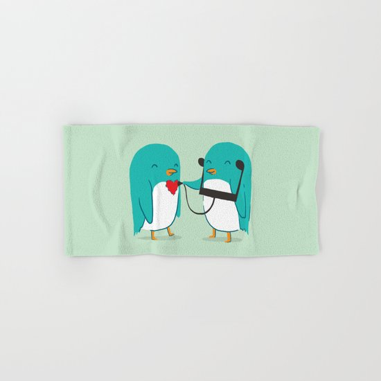 The sound of love Hand & Bath Towel