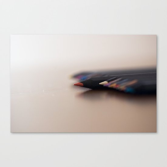 Pencils Canvas Print